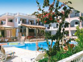 Ostrov Zakynthos a hotel Arion Renaissance s bazénem