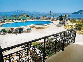 Zakynthos a hotel Harmony s bazénem
