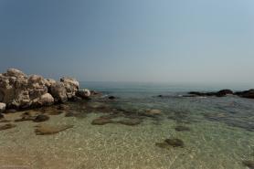 Záliv Xingi u ostrova Zakynthos