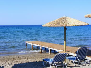 Jedna z pláží na ostrově Zakynthos