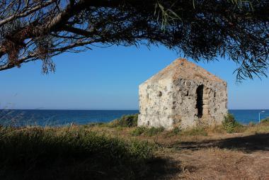 Východní pobřeží ostrova Zakynthos