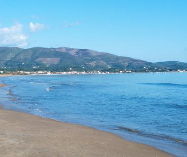 Zakynthos s pláží Kalamaki