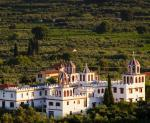 Zakynthos s klášterem Eleftheotria