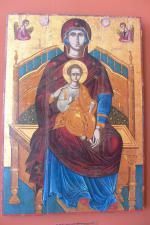 Zakynthos se svatou ikonou v muzeu